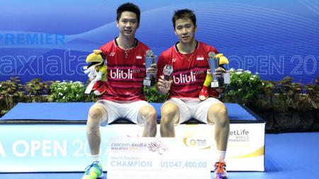 Berikut skuat Indonesia yang akan bertanding di turnamen Malaysia Open 2020, di mana tim Tanah Air dipastikan bakal tampil dengan kekuatan penuh. - INDOSPORT