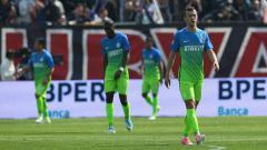 Indosport - Para penggawa Inter Milan setelah kalah atas Crotone.