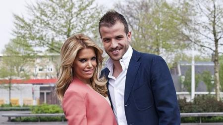 Pasangan Rafael van der Vaart dan Sylvie Meis saat belum bercerai. - INDOSPORT