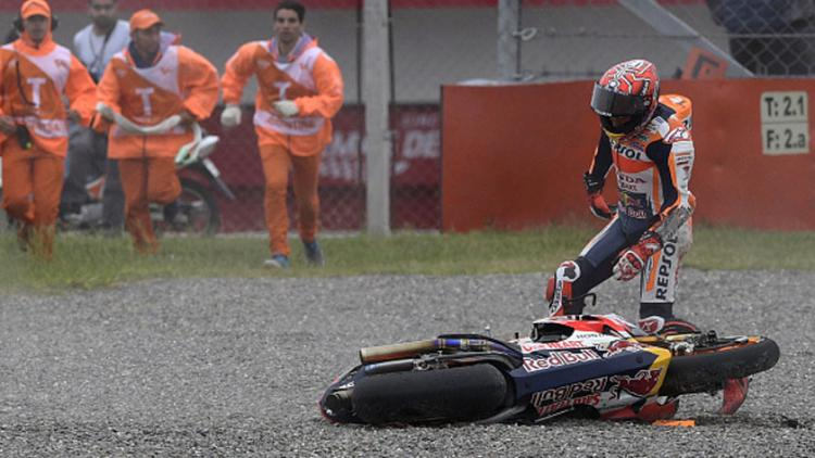 Marc Marquez  (Spanyol) Copyright: JUAN MABROMATA/AFP/Getty Images