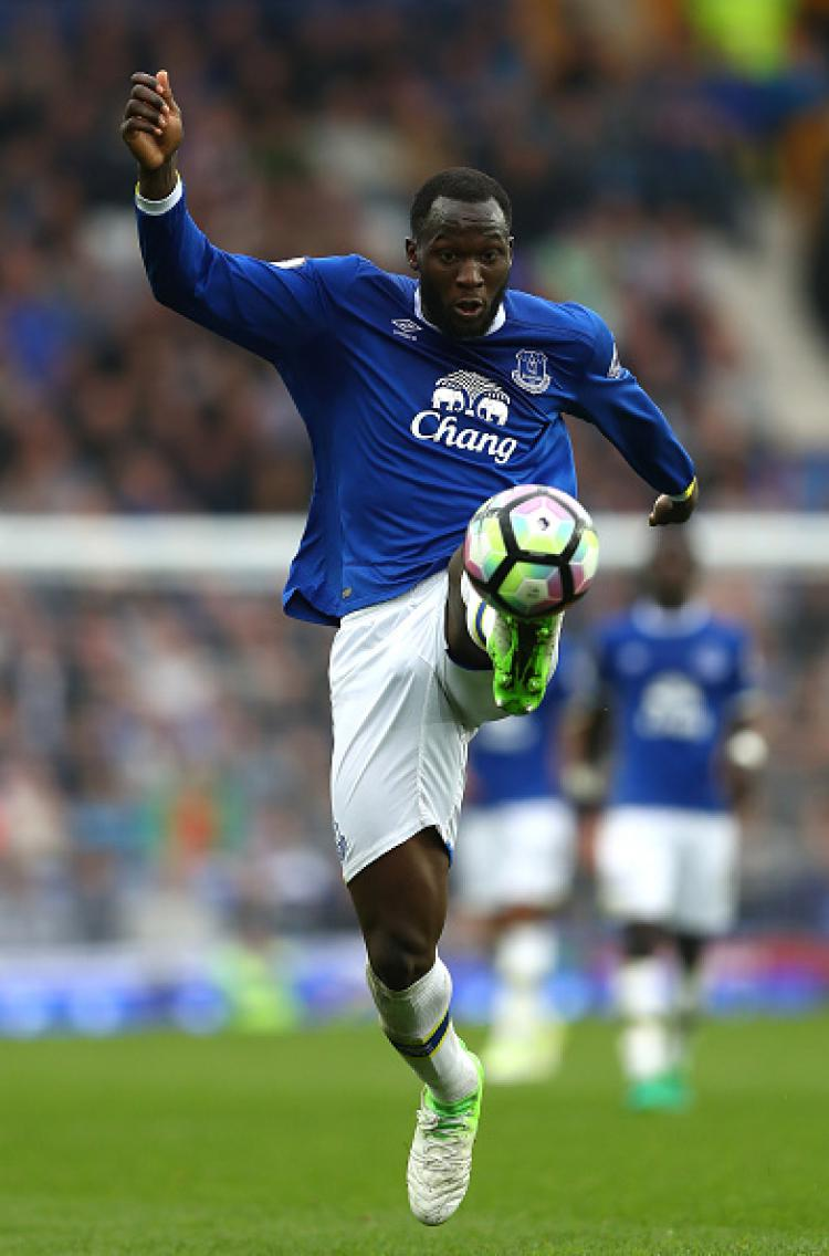 Penyerang Everton, Romelu Lukaku Copyright: Michael Steele/Getty Images