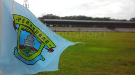 Stadion Maulana Yusuf yang biasa digunakan Perserang Serang kini tengah tempat latihan Persita Tangerang. - INDOSPORT