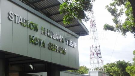 Stadion Maulana Yusuf yang berlokasi di Jl. Jendral Sudirman, Sumurpecung, Kota Serang, Banten. - INDOSPORT