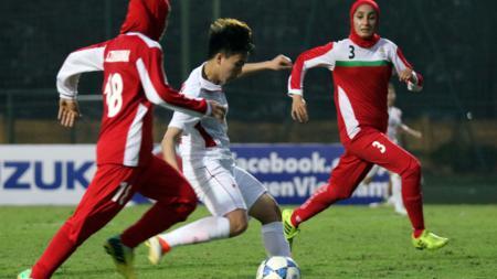 Laga Kualifikasi AFC Women's Asian Cup Jordan 2018. - INDOSPORT