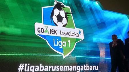 Logo Liga 1. - INDOSPORT