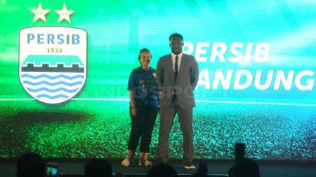 Michael Essien di peluncuran Gojek Traveloka Liga 1. - INDOSPORT