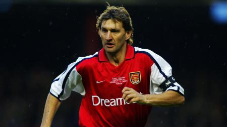 Legenda Arsenal, Tony Adams. - INDOSPORT