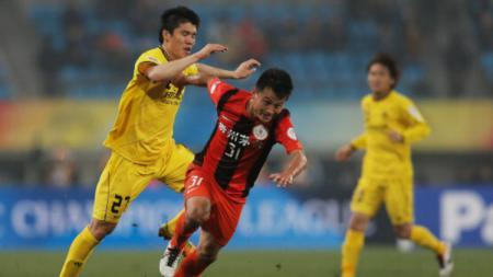 Pemain Beijing Renhe, Rao Weihui (Nomor 31). - INDOSPORT