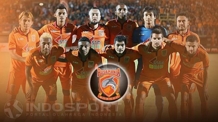 Skuat Pusamania Borneo FC Copyright: Indosport/Instagram PBFC