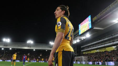 Bek Arsenal, Hector Bellerin. - INDOSPORT