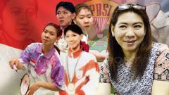 Indosport - Legenda pebulutangkis Indonesia, Susy Susanti.