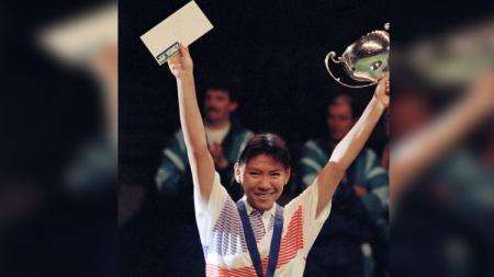 Susy Susanti juara All England pada Maret 1990. - INDOSPORT