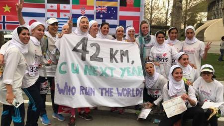 Lari Maraton Internasional di Teheran. - INDOSPORT
