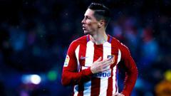 Indosport - Mantan striker Atletico Madrid, Fernando Torres.