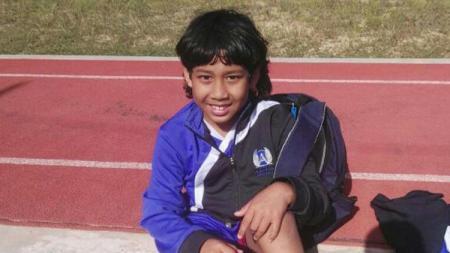 Aksi Abdurrahman Iwan di Algarve Youth Cup 2017. - INDOSPORT