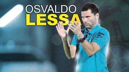 Pelatih Sriwijaya, Osvaldo Lessa. - INDOSPORT