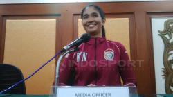 Media Officer PSM Makassar, Andi Widya Syadzwina.