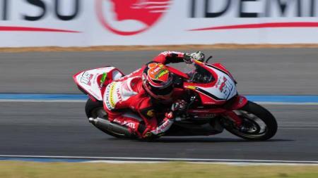 Pembalap Astra Racing Honda Team, Gerry Salim. - INDOSPORT