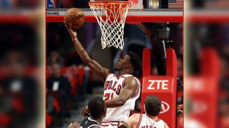 Pemain andalan Chicago Bulls, Jimmy Butler. - INDOSPORT