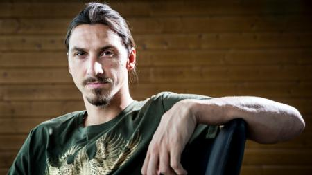 Zaltan Ibrahimovic, striker Man United. - INDOSPORT