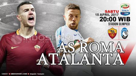 Prediksi AS Roma vs Atalanta. - INDOSPORT