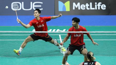 Berry Angriawan/Hardianto gagal merebut tiket final Singapore Open 2017. - INDOSPORT