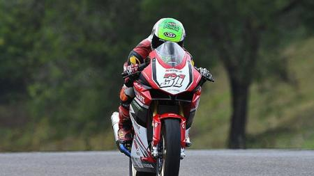 Pembalap Astra Honda Racing Team, Gerry Salim. - INDOSPORT