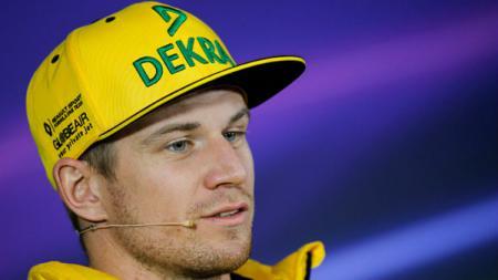 Pembalap tim F1 Renault, Nico Hulkenberg. - INDOSPORT