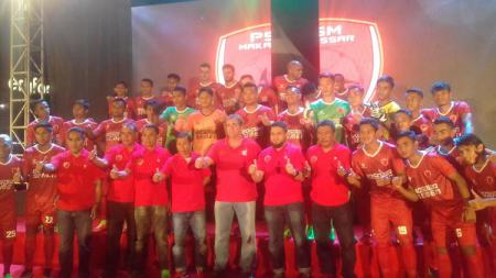 Skuat resmi PSM Makassar musim 2017 - INDOSPORT
