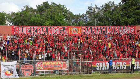 Suporter Semen Padang. - INDOSPORT