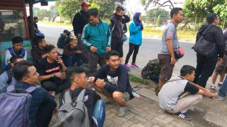Rombongan Viking Jakarta. - INDOSPORT