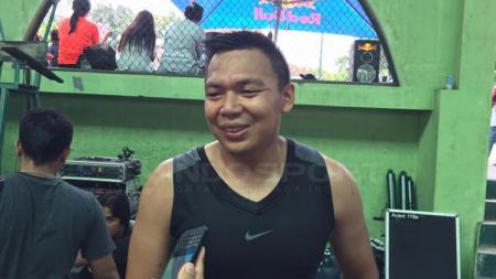 Andi 'Batam' Poedjakesuma, mantan pebasket nasional. - INDOSPORT