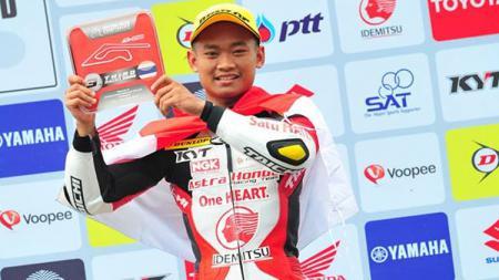 Pembalap Indonesia, Rheza Danica. - INDOSPORT