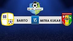 Indosport - Barito Putera vs Mitra Kukar.