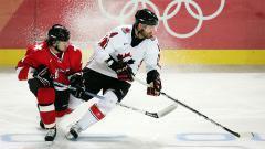 Indosport - Ilustrasi pertandingan hoki es.