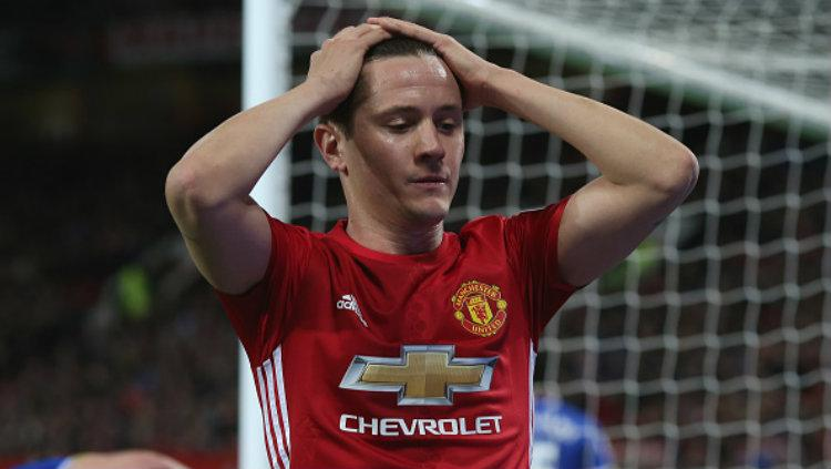 Gelandang Manchester United, Ander Herrera. Copyright: John Peters/Man Utd via Getty Images