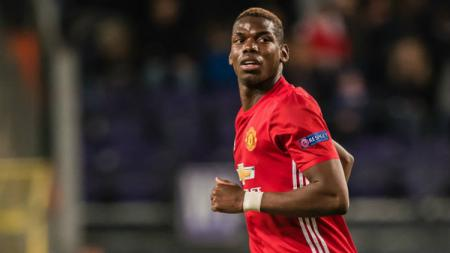 Gelandang andalan Manchester United, Paul Pogba. - INDOSPORT
