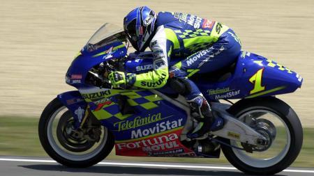 Kenny Roberts Jr akan dimasukkan ke dalam daftar Legenda MotoGP. - INDOSPORT