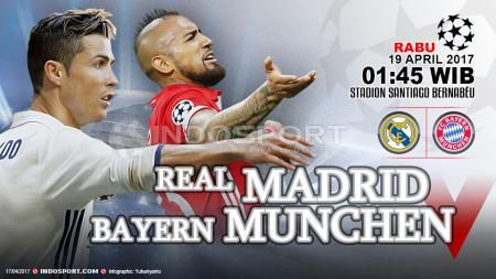 Real Madrid vs Bayern Munchen. - INDOSPORT