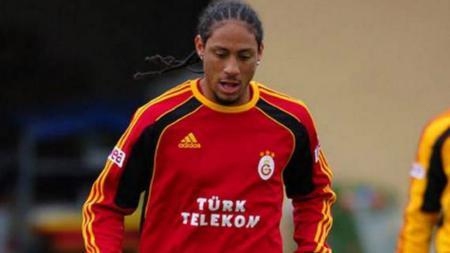 Juan Pablo Pino Puello saat memperkuat Galatasaray. - INDOSPORT