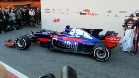 Mobil F1 Toro Rosso - INDOSPORT