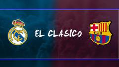 Indosport - Real Madrid vs Barcelona.