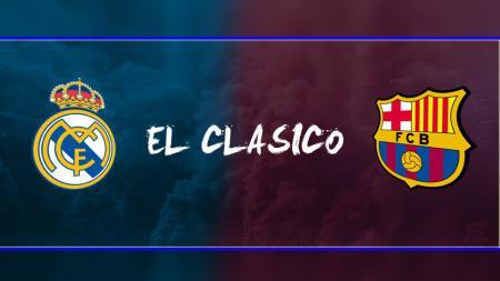 Real Madrid vs Barcelona. - INDOSPORT