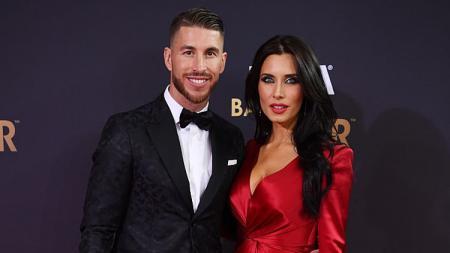 Pilar Rubio bersama sang kekasih, Sergio Ramos. - INDOSPORT