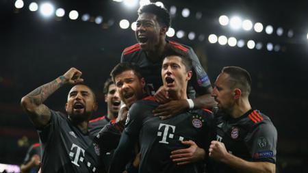 Skuat Bayern Munchen. - INDOSPORT