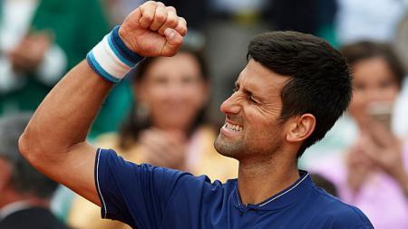 Petenis asal Serbia, Novak Djokovic. - INDOSPORT