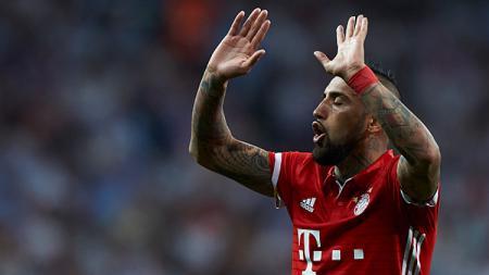 Gelandang Bayern Munchen, Arturo Vidal. - INDOSPORT