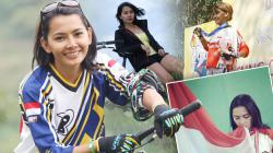 Indosport berkesempatan mengunjungi kediaman Risa Suseanty, legenda balap Indonesia di daerah sentul.