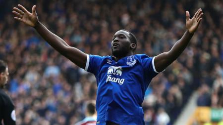 Bintang Everton, Romelu Lukaku. - INDOSPORT