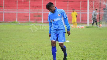 Pemain sayap senior Semen Padang, Irsyad Maulana. - INDOSPORT